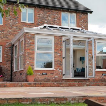 Cream uPVC Orangery and windows