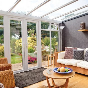 uPVC lean to conservatory interior