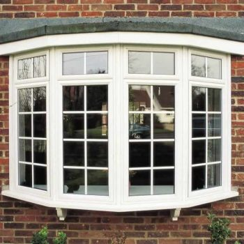 uPVC bow windows