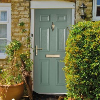 Chartwell green uPVC composite door