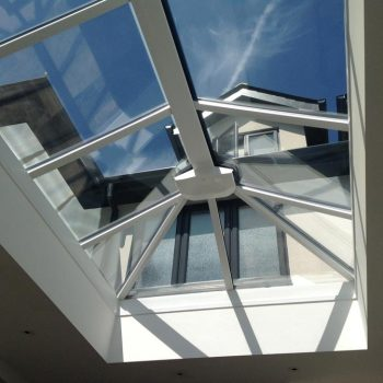 Lantern roof installed in one of our orangeries