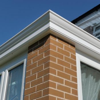 Close up of one of our orangery installations